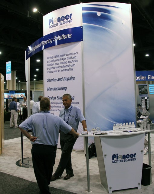 Pioneer Motor Bearing Hydrovision Booth