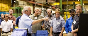 Babbitt bearing repair training